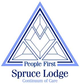 Spruce Lodge People First logo